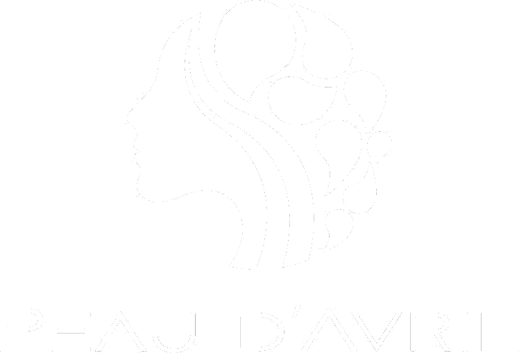 Peau D'Avril Logo White